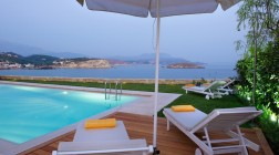 Amazing sea views from the pool terrace