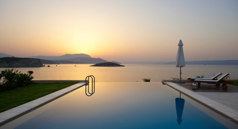 Amazing views from the infinity pool
