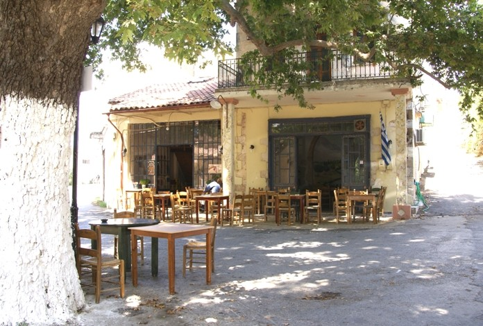 Kafenion in Kalives