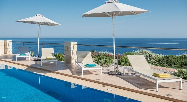 Relax by the pool and enjoy the view