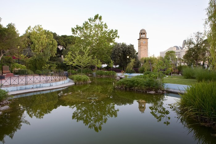 Chania Public Garden and Tower Clock