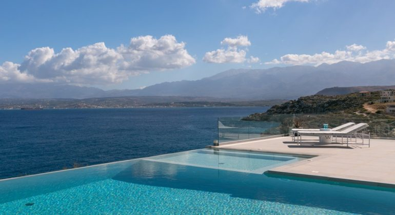 Relax by the pool and enjoy the views...