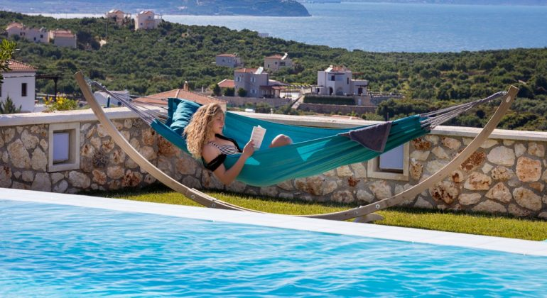 Relax by the pool...
