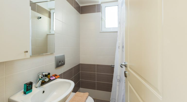 Shower room and quality toiletries