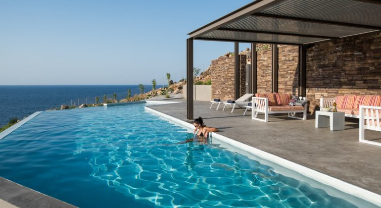 rental villa Chania 4 pool 12