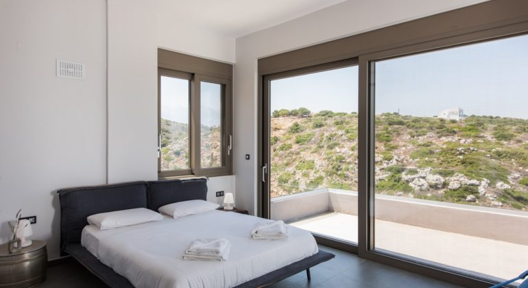 rental villa Chania bedroom top 2