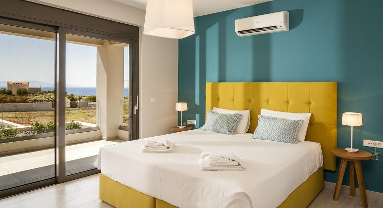 middle floor - single beds